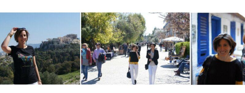 Vivre Athènes - Laure et Sophie