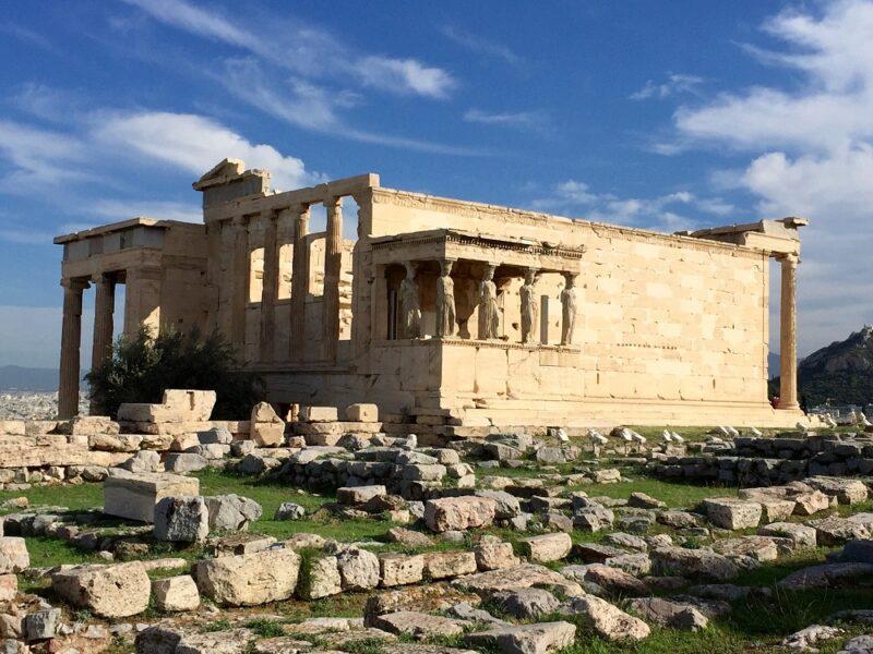 Acropole, les Cariatides