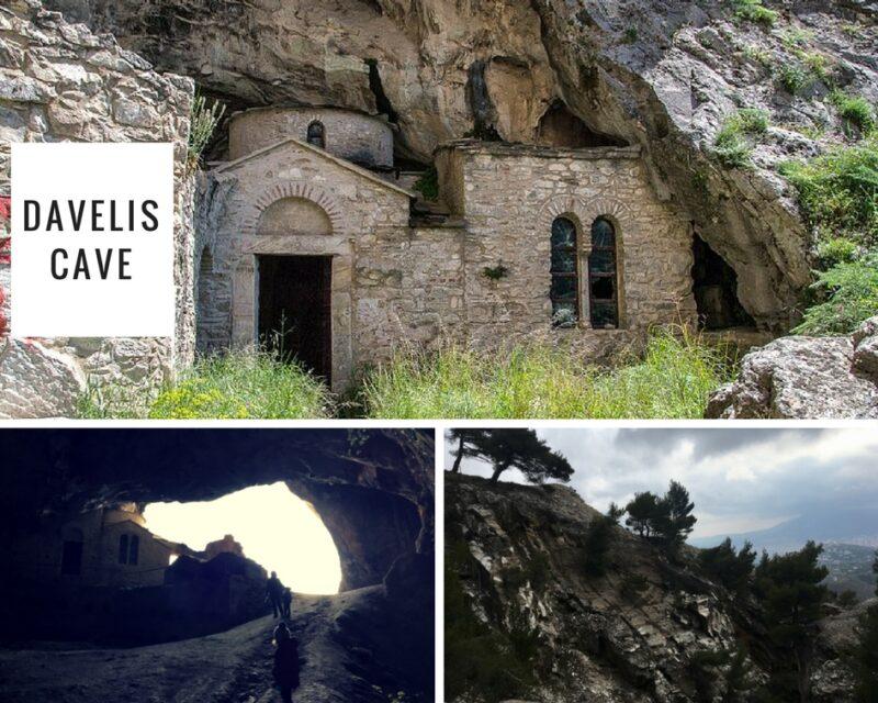 davelis cave - grotte de pendeli