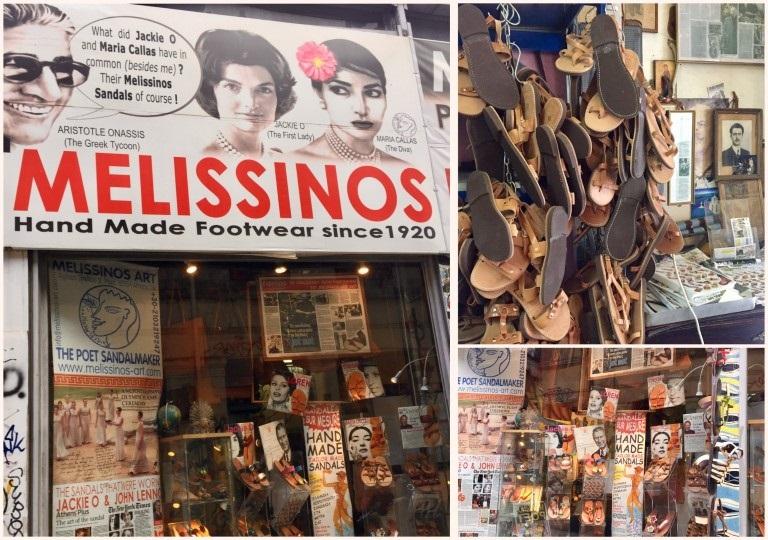 Melissinos Art à Athènes, un chausseur renommé