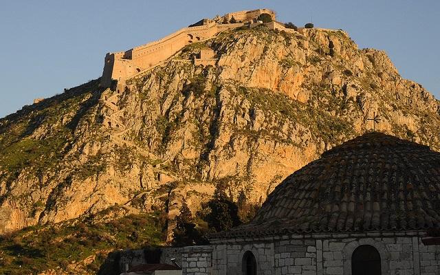 La citadelle de Nauplie