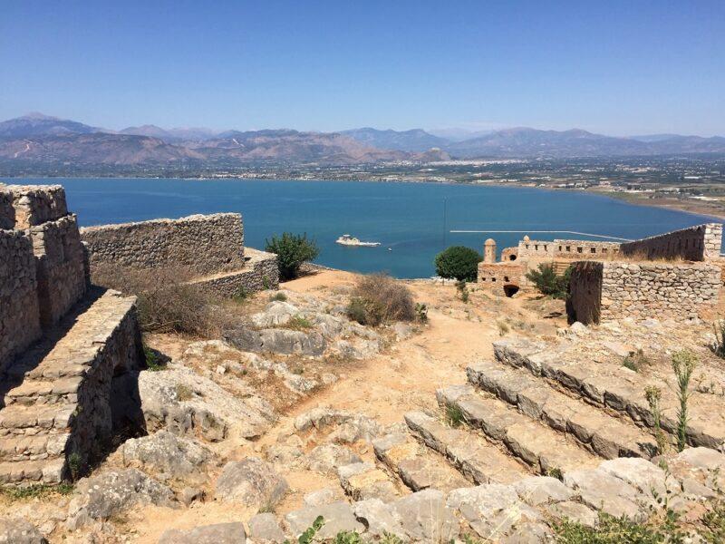 La citadelle de Palamède de Nauplie