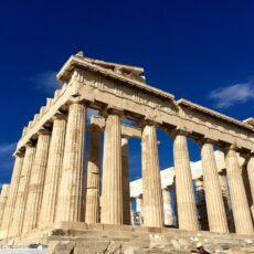 Une photo du Parthenon