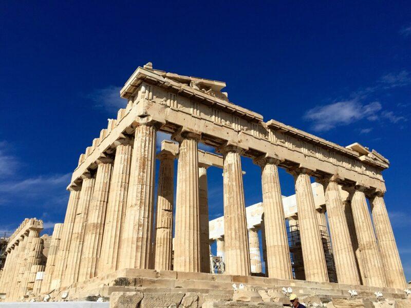 Une photo du Parthenon