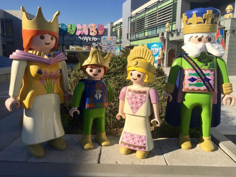 L'entrée du Playmobil Fun parc