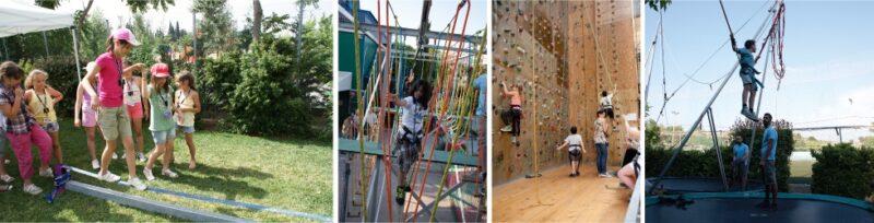 Les activités pour enfants de The Wall