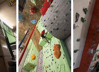 La salle d'escalade The Wall