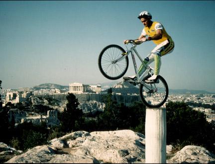 transport : faire du vélo dans athenes