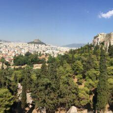 Vue depuis la colline du Pnyx
