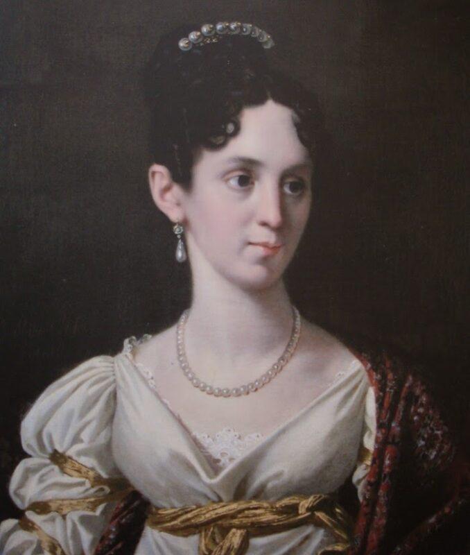 Portrait de la duchesse de Plaisance