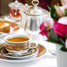 Le high tea de l'hôtel Grande Gretagne