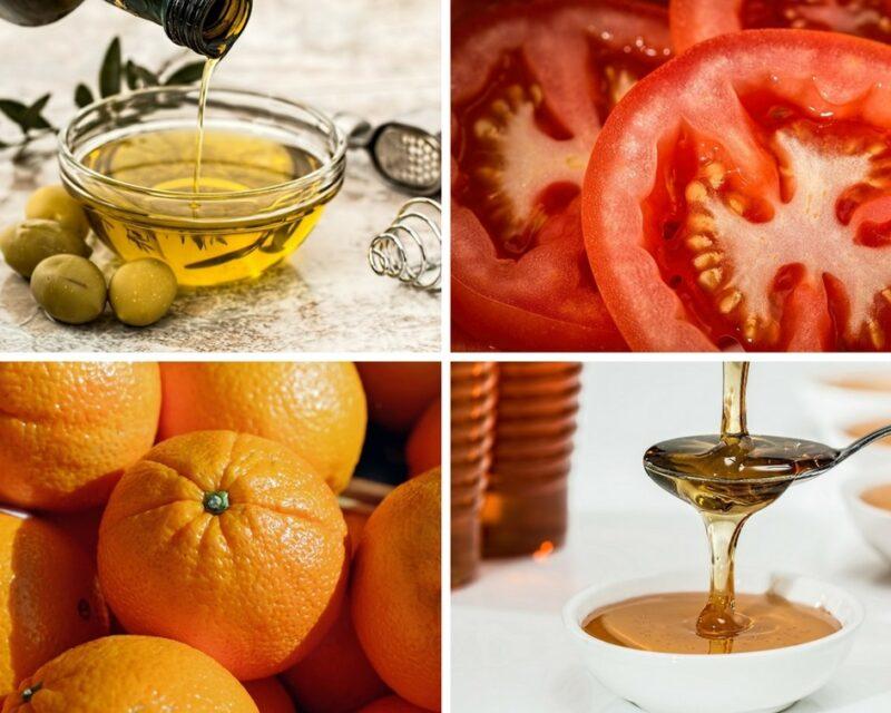 Les ingrédients utilisés dans la cuisine de la région du Magne