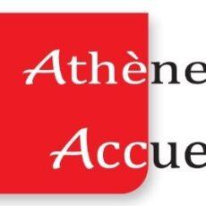 Le logo d'Athènes Accueil