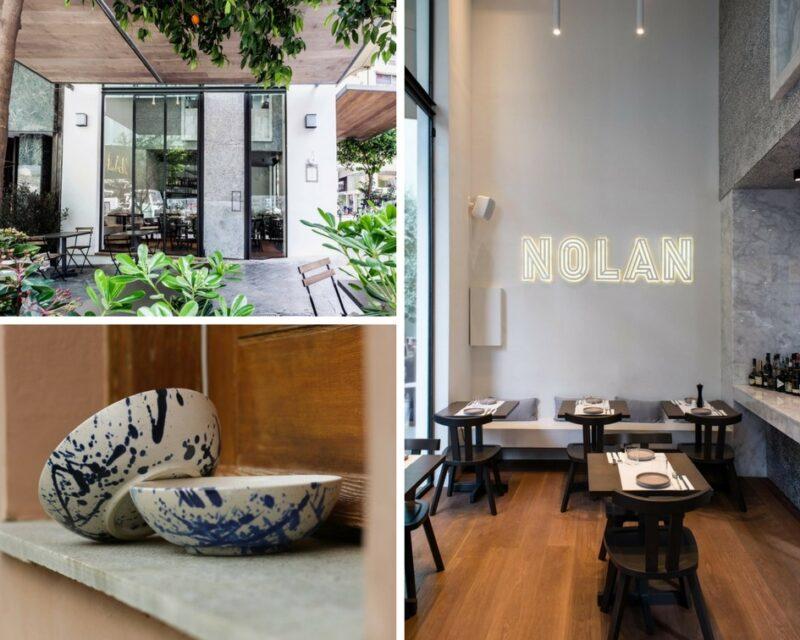 L'intérieur du restaurant Nolan