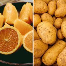 Ingrédients de la salade de pommes de terre du Magne