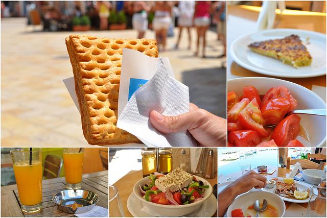 Cuisine grecque et enfants