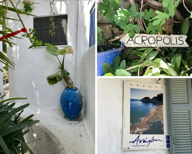le quartier anafiotika a athenes