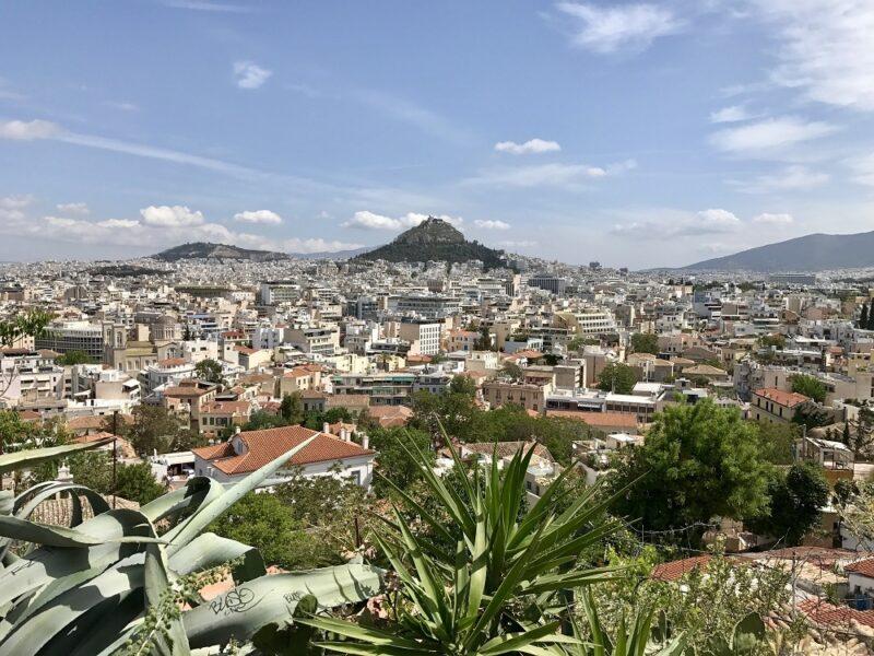 Visiter Athènes - lycabette