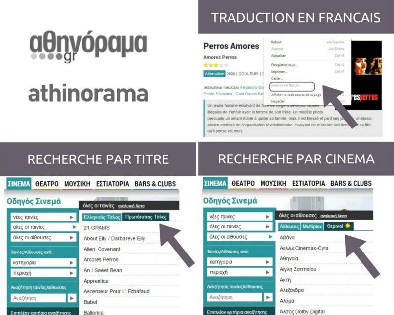 athinorama - cinema de plein air