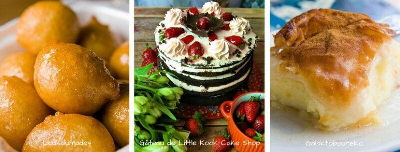 Desserts grecs qui plaisent aux enfants