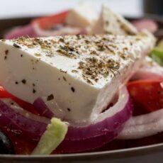 Une salade grecque