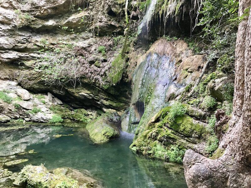 La cascade de Neraïda à Mylopotamos