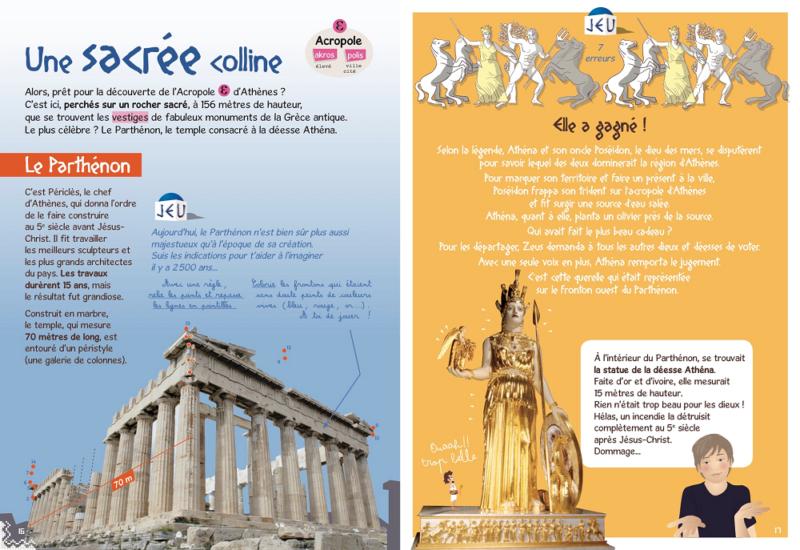 Page intérieure du livre la Grèce des Enfants