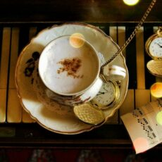 L'ambiance du salon de thé Little Kook Cake Shop à Athènes