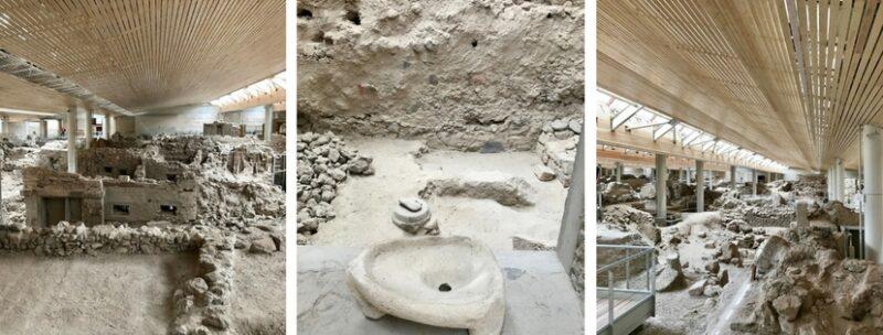 Le site archéologique d'Akrotiri