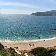 La plage de Legraina