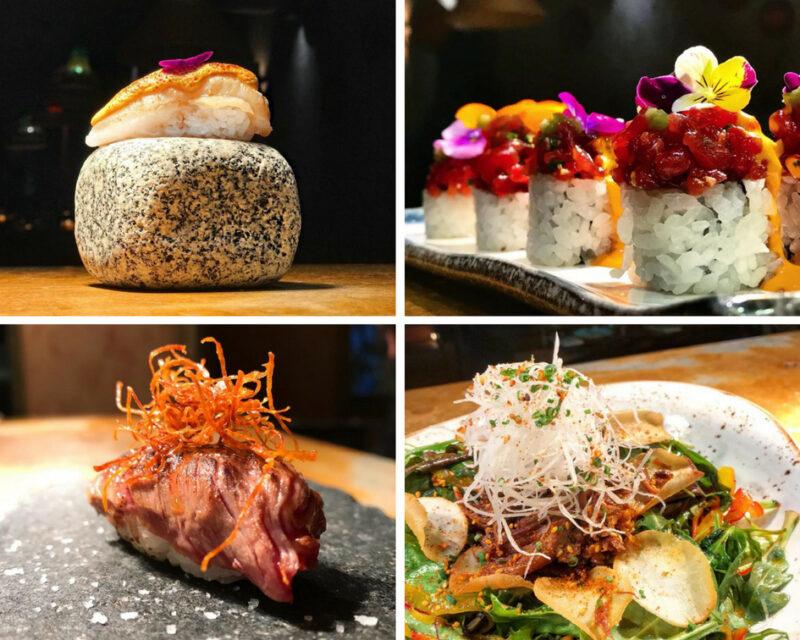 Athènes en été : le restaurant d'été Nikkei