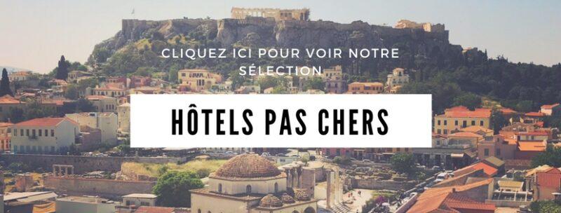 Athènes hotels pas cher