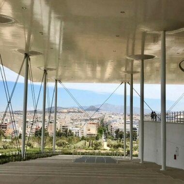 Visiter Athènes - fondation niarchos athenes