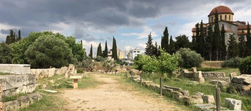 La voie sacrée Athènes