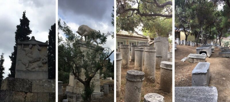 Cimetière de Keramikos Athènes