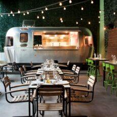 Le food-truck du restaurant 48 URBAN GARDEN à Athènes