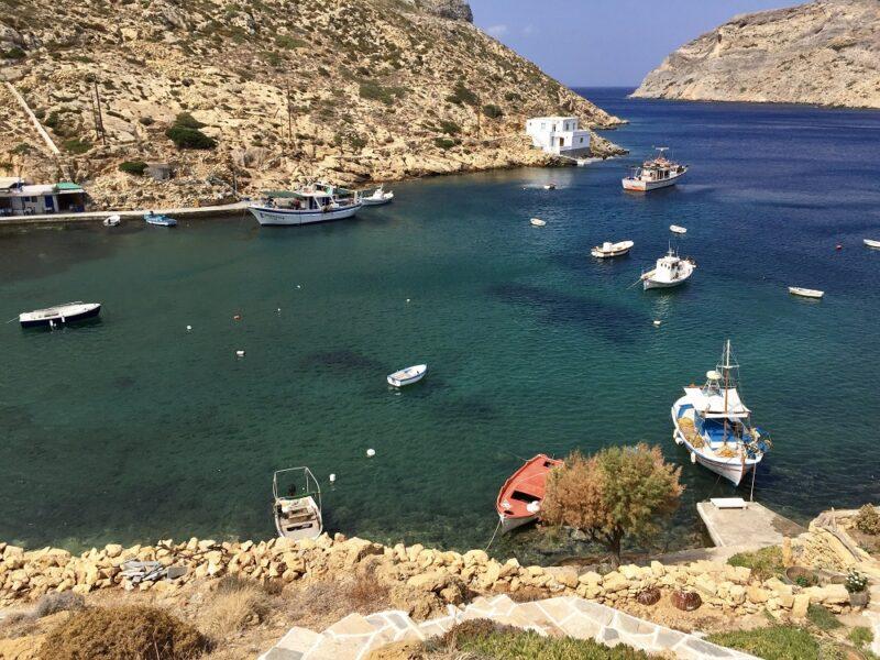 Cheronissos sur l'île grecques de Sifnos dans les Cyclades