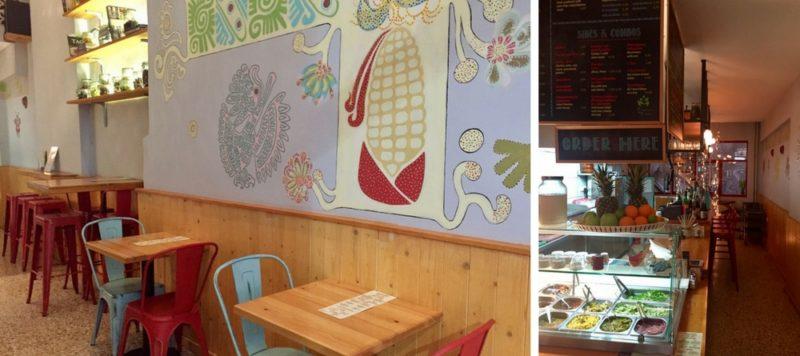 Le restaurant Taqueria Maya