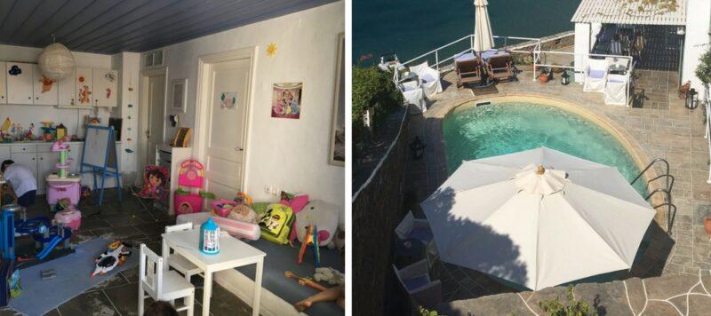 Niridies Hotel Sifnos pour les enfants