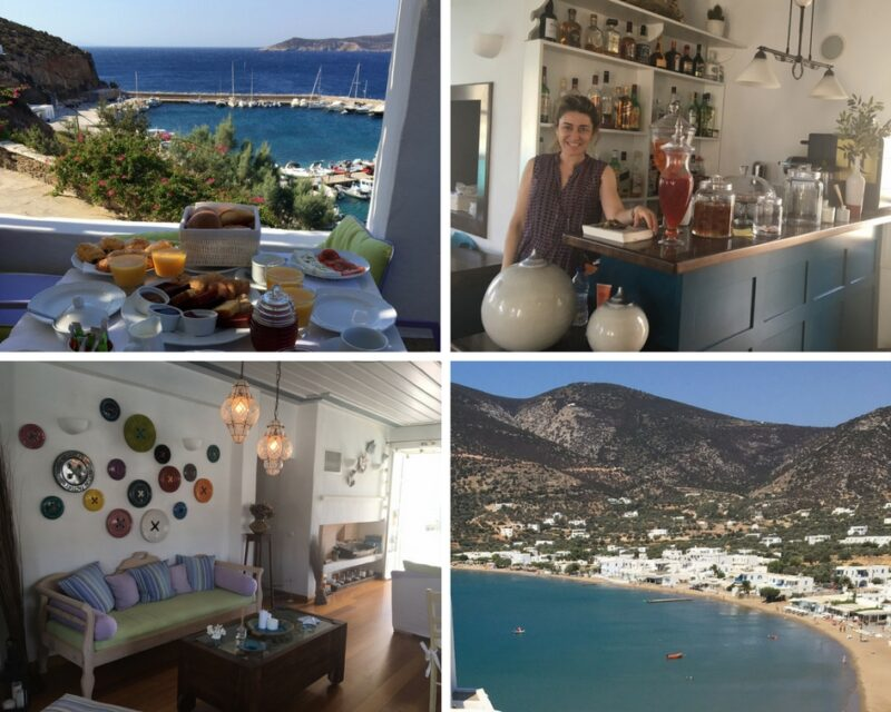 niridies hotel de charme à Sifnos