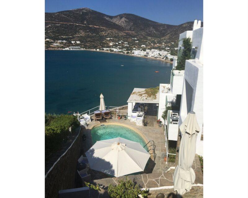 niridies sifnos hotel de charme avec piscine