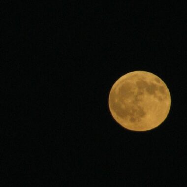pleine lune à Athènes