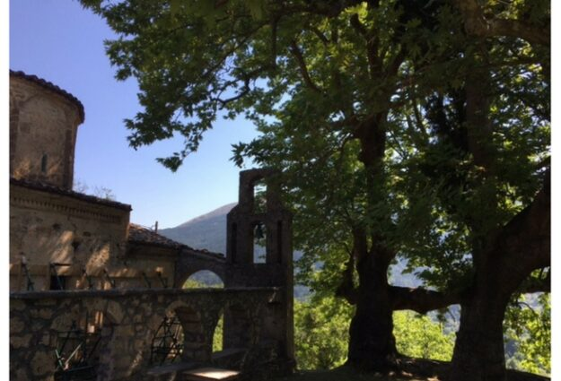 Chapelle Byzantine à Zarouchla Kalavryta