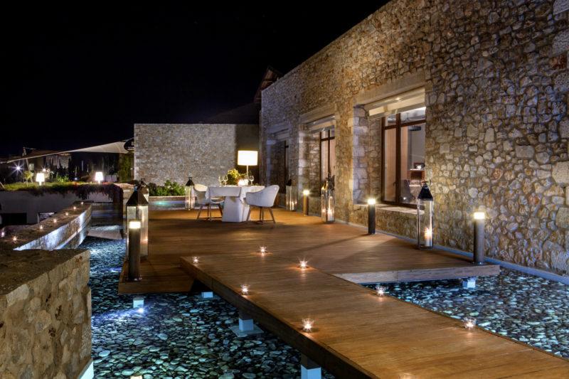 Club de vacances de luxe en Grèce