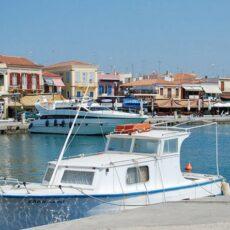 le port d'Egine