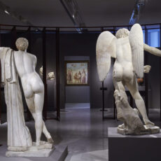 Exposition émotions au musée de l'acropole à athènes