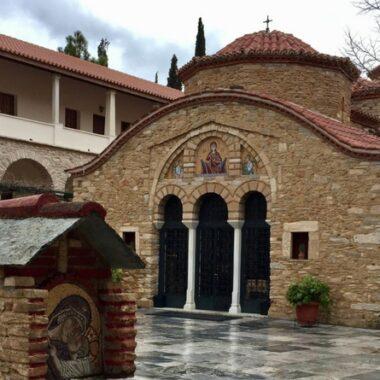 Le monastère de Pendeli : eglise byzantine à Athènes
