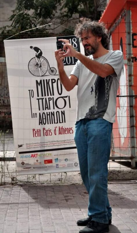 Marios Strofalis au festival Petit Paris d'Athènes