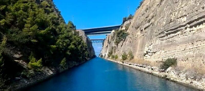 canal de corinthe grece visite