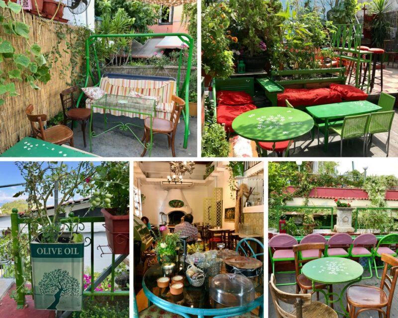 Super restaurant à Plaka Athènes : le café Yiasemi